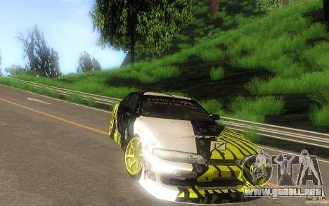 Nissan Silvia S14 zenki matt powers para GTA San Andreas vista hacia atrás