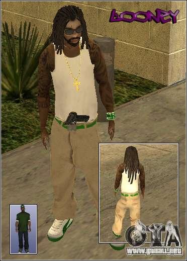 Piel Pack Getto para GTA San Andreas novena de pantalla