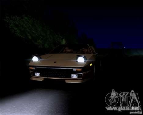 Lamborghini Jalpa 3.5 1986 para GTA San Andreas vista hacia atrás