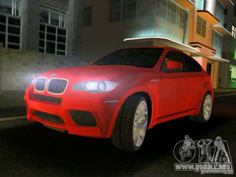 BMW X6M para GTA Vice City