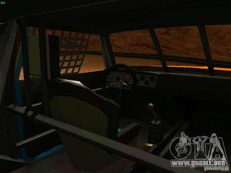 Jupiter Eagleray MK5 para vista lateral GTA San Andreas