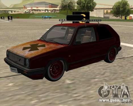 VW Golf II Shadow Crew para GTA San Andreas