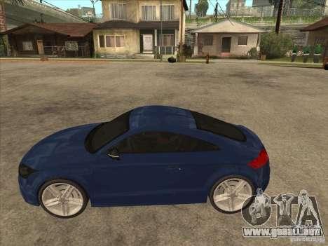 Audi TT RS 2010 para GTA San Andreas left