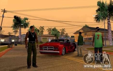 Guardar información de autorrecuperación para GTA San Andreas tercera pantalla
