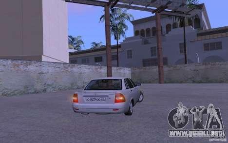 LADA Priora 2170 Brend para la visión correcta GTA San Andreas
