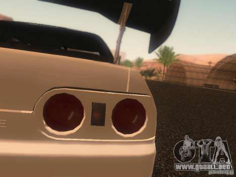 Nissan Skyline GTS R32 JDM para la vista superior GTA San Andreas