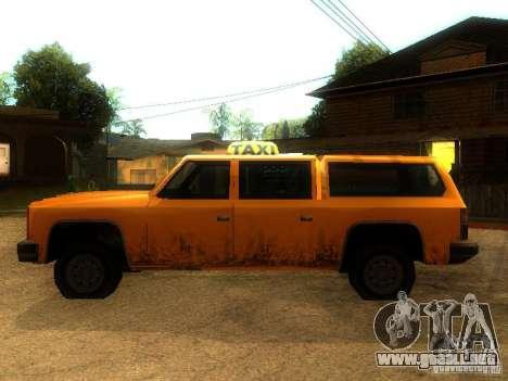 Taxi Rancher para GTA San Andreas left
