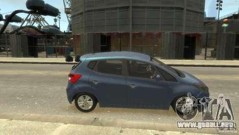 Hyundai IX20 2011 para GTA 4 visión correcta