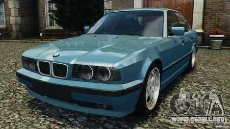 BMW E34 V8 540i para GTA 4