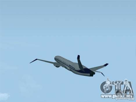 Boeing 737 Iron Man Bussines Jet para GTA San Andreas left