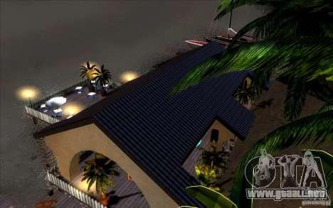 Club de playa para GTA San Andreas séptima pantalla