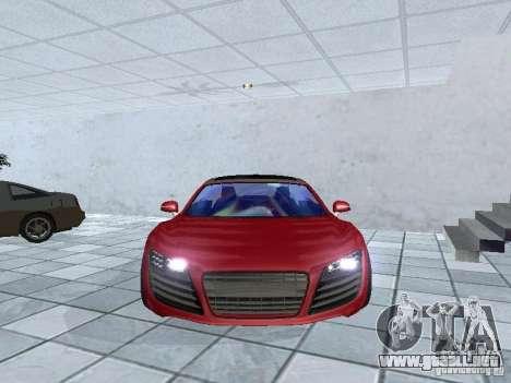 Audi Le Mans Quattro para GTA San Andreas vista hacia atrás