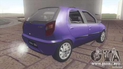 Fiat Palio 16v para GTA San Andreas left