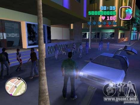 Delorean DMC-12 para GTA Vice City left