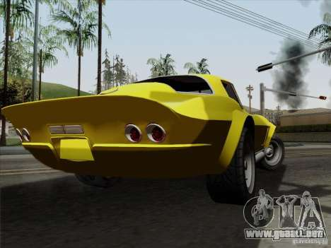 Chevrolet Corvette 1967 para GTA San Andreas left