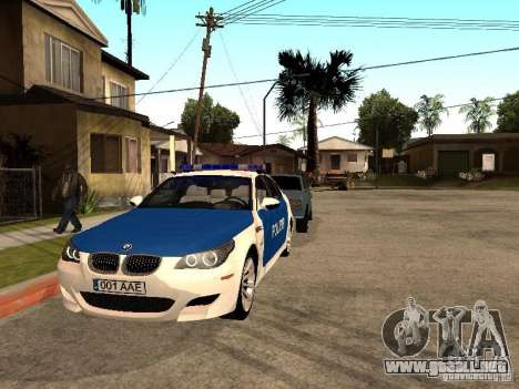 BMW 5-er Police para GTA San Andreas