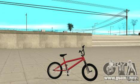 Powermatic BMX 2006 para GTA San Andreas
