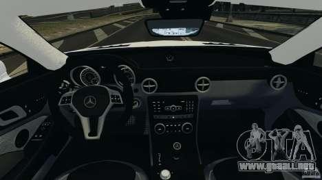 Mercedes-Benz SLK 2012 v1.0 [RIV] para GTA 4 vista hacia atrás
