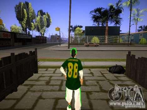 New Deniz para GTA San Andreas segunda pantalla