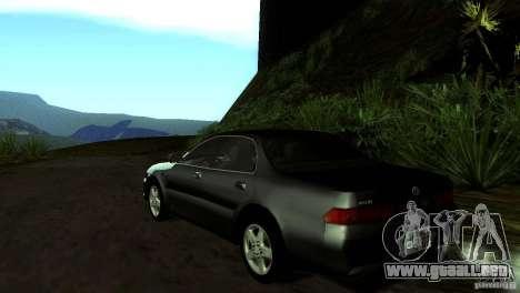 Toyota Carina ED ST202 para GTA San Andreas vista posterior izquierda