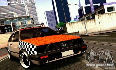 Volkswagen MK II GTI Rat Style Edition para GTA San Andreas