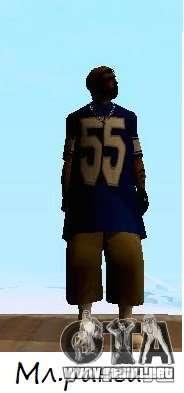 Pieles de los sureños 13 para GTA San Andreas segunda pantalla