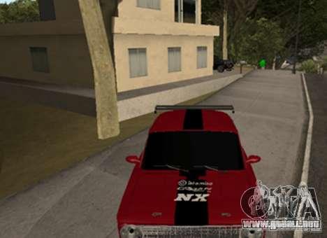 VAZ 2101 Drag para GTA San Andreas left