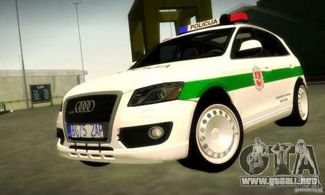 Audi Q5 TDi - Policija para GTA San Andreas
