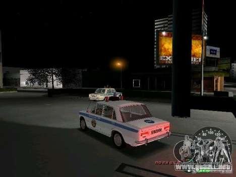 VAZ 2101 policía para GTA Vice City vista lateral izquierdo