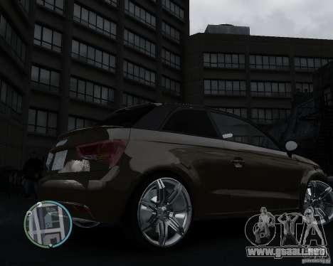 Audi A1 v.2.0 para GTA 4 visión correcta