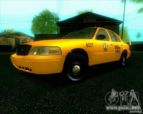 Ford Crown Victoria 2003 TAXI para GTA San Andreas
