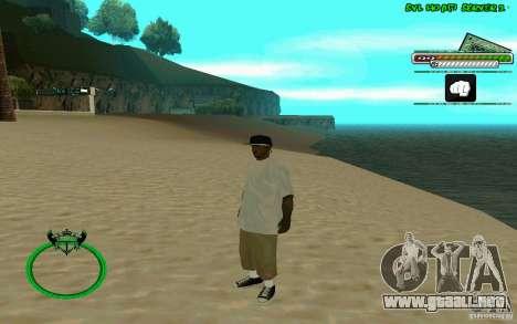 Nigga HD skin para GTA San Andreas quinta pantalla