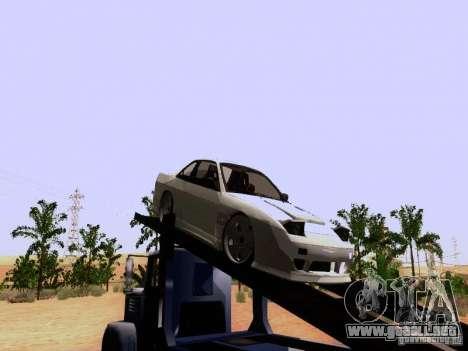 Nissan 240SX (S13) para GTA San Andreas vista posterior izquierda