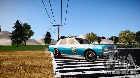 Dodge Diplomat 1983 Police v1.0 para GTA 4 left
