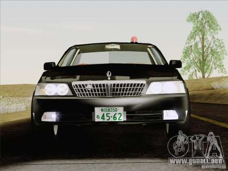 Nissan Laurel GC35 Kouki Unmarked Police Car para visión interna GTA San Andreas