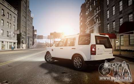 Land Rover Discovery 4 2013 para GTA 4 left