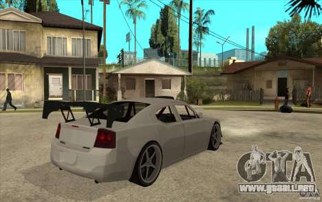 Dodge Charger 2009 para la visión correcta GTA San Andreas