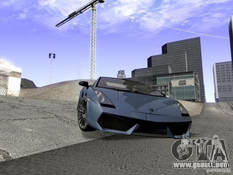 LibertySun Graphics For LowPC para GTA San Andreas quinta pantalla
