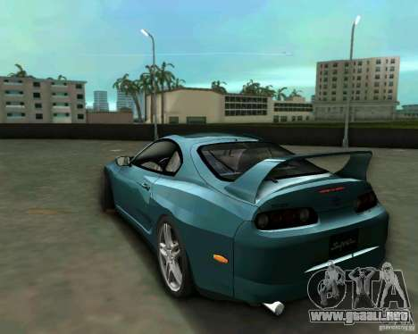 Toyota Supra para GTA Vice City left