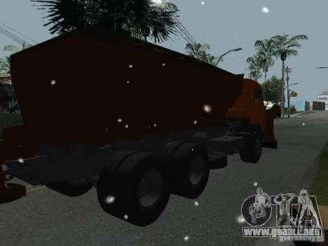 KAMAZ 53215 para GTA San Andreas left