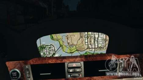 BMW 330i E92 para GTA 4 interior