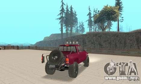 Dodge Ram Prerunner para GTA San Andreas left