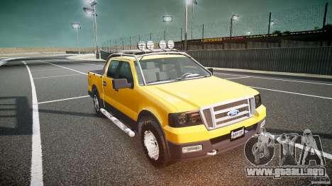 Ford F150 FX4 OffRoad v1.0 para GTA 4 vista hacia atrás