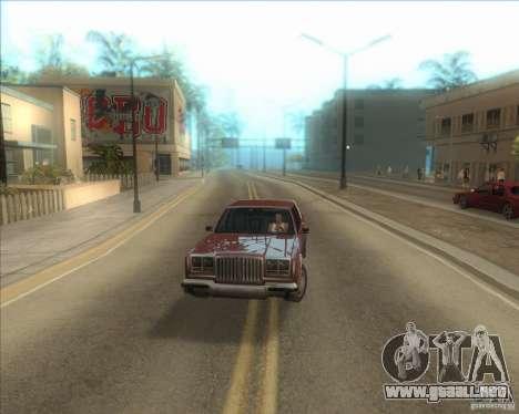 Mi configuración ENBSeries HD para GTA San Andreas tercera pantalla