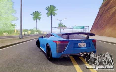 Sompelling ENBSeries para GTA San Andreas tercera pantalla