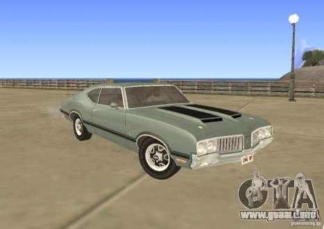 Oldsmobile 442 Cutlass 1970 para GTA San Andreas
