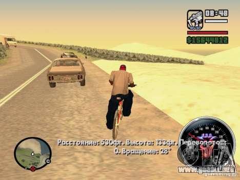 Speed Udo para GTA San Andreas quinta pantalla