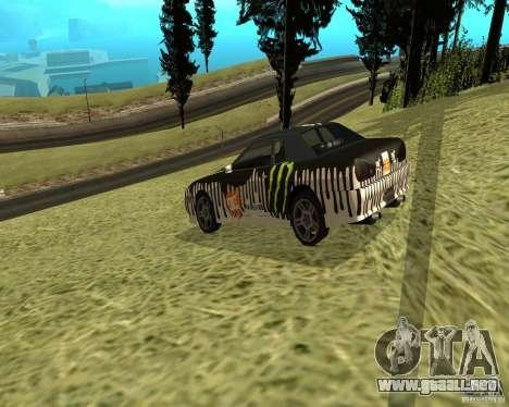 Monster Energy Vinyl para la visión correcta GTA San Andreas