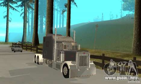 Peterbilt 379 Custom Legacy para GTA San Andreas left