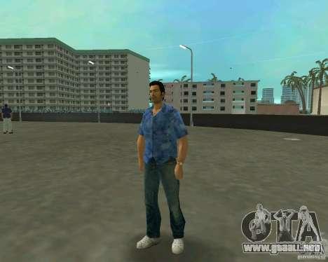 Tommy en HD + nuevo modelo para GTA Vice City segunda pantalla